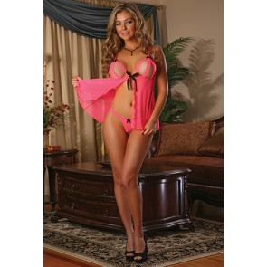 Serendipity babydoll color corallo
