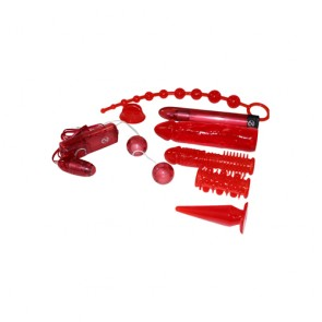 Set sex toys Red Roses 9 pz