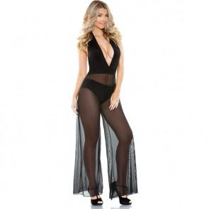 Sexy Jumpsuit nera