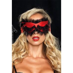 Sexy maschera in raso Leg Avenue