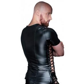 Shirt da uomo con allacciatura ai lati