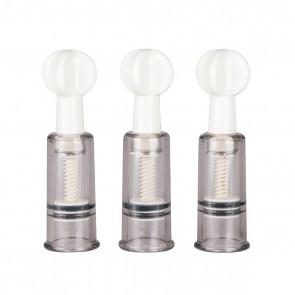 Stimolatore capezzoli Nipple&Clit Suchers 3 pz
