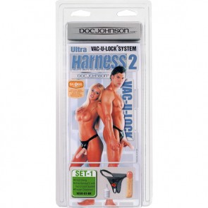 Strap-on Ultra Harness 2 con Dildo 20x4cm