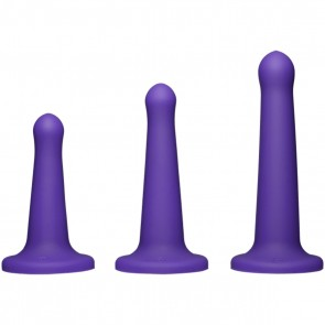 Total penetration set kit penetrazione anale 3 dildo viola