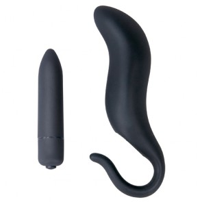 Vibratore anale in silicone Black Velvet You2Toys